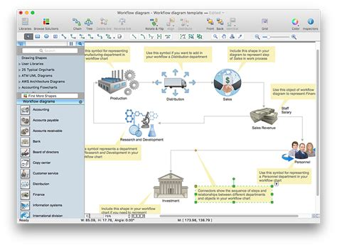 how to create a workflow chart make a work flow chart conceptdraw helpdesk