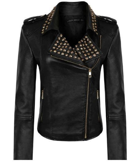 Jaket Cp S31 Nike Maroon joan studded moto jacket closet couture