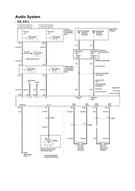 honda odyssey light wiring diagram wiring diagram