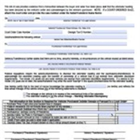 ga dept of motor vehicle bill of sale forms and templates wikidownload