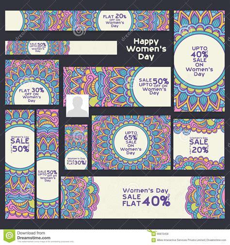 design header social media sale social media post and header for women s day stock