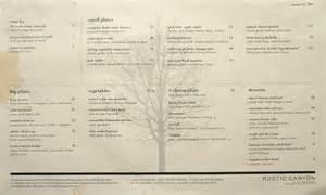 rustic kitchen menu kevineats rustic canyon santa monica ca 2