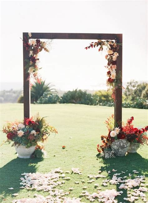 Garden Arbor Plans Autumn Weddings Pics | 20 stunning wedding altar ideas festival around the world