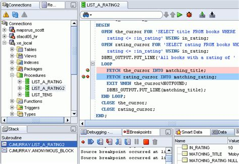 sql tutorial with oracle sql developer concepts and usage