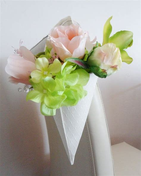paper cones for wedding flowers wedding decor paper cones chairs pews decor flower