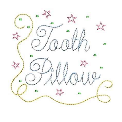 embroidery design tooth fairy needle passion embroidery embroidery design tooth pillow