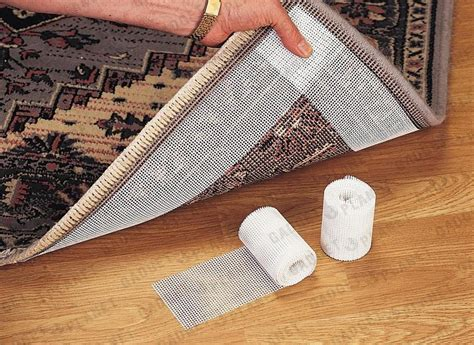 Rug Slips On Carpet by 2 Rolls Carpet Rug Mat Gripper Non Slip Wood Wooden