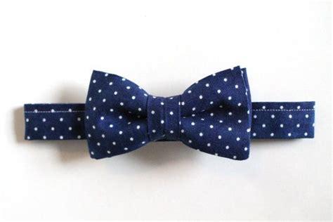 baby boy toddler boys bow tie navy and white polka dot