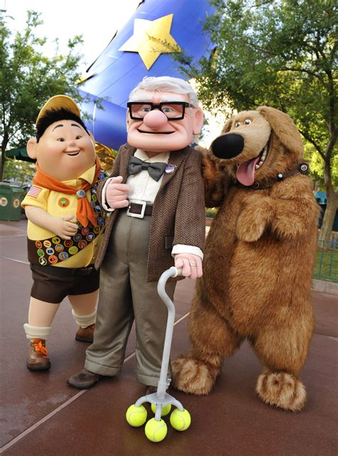 film up characters quot up quot and running tomorrow wdw news today