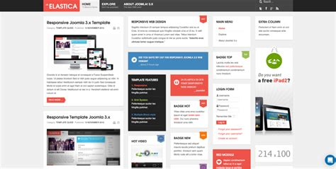 joomla template quickstart package best 5 free joomla templates with quickstart pack