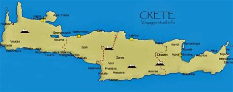 map  crete kriti greece