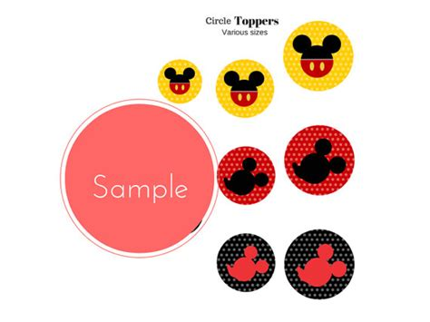 mickey mouse party printables baby shower ideas