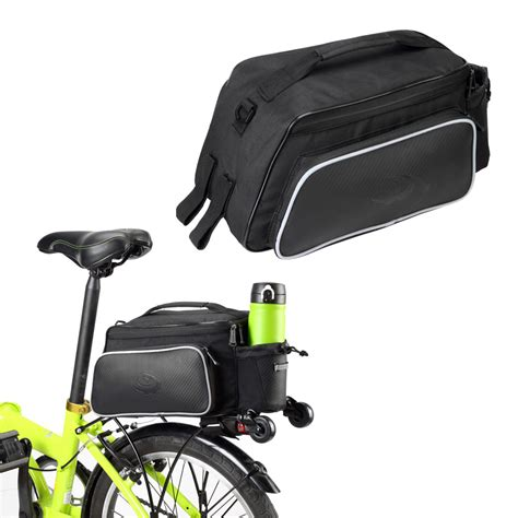 waterproof bicycle seat bags roswheel waterproof 10l cycling bicycle bike rear rack