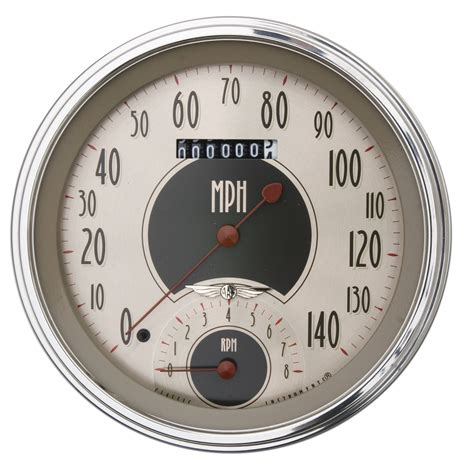 Speedometer Cb150r Meter Assy Comb 5 inch speedtachular speedo tach combo all american nickel series rod and