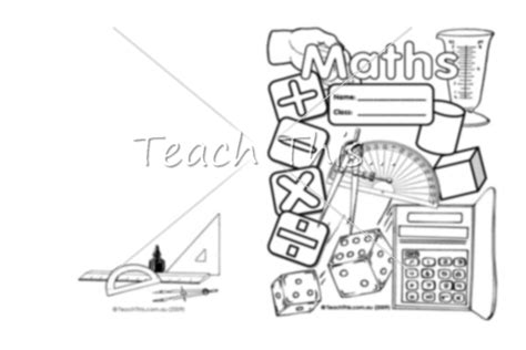 maths upper book cover printable book covers for
