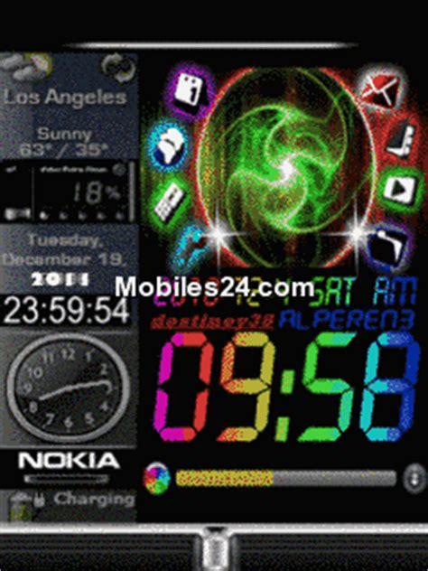 digital clock themes software download windows digital clock free mobile phone screensaver