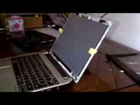 Ganti Speaker Laptop Acer tutorial cara ganti lcd laptop acer aspire one aod756 series