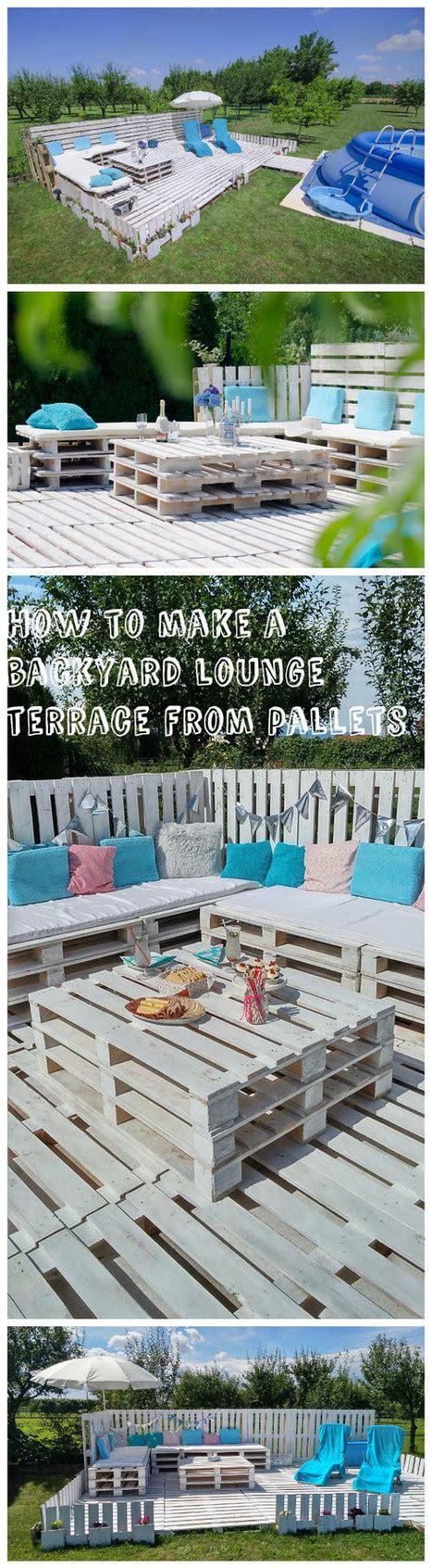 pavimento giardino fai da te pavimento esterno con i pallet 20 idee da cui ispirarsi