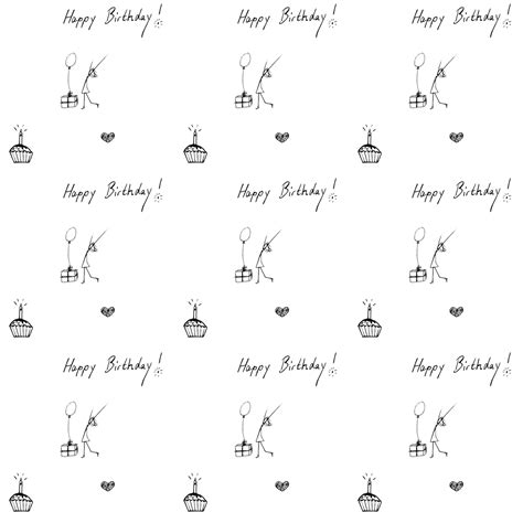 printable wrapping paper happy birthday free digital birthday scrapbooking paper and embellishment