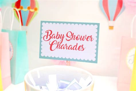 Baby Shower Charades Printable by Free Printable Baby Shower Charades Delights