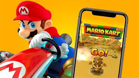 mario kart  premieres  de gameplay  details