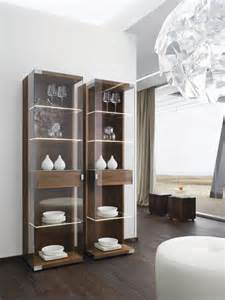 Contemporary Display Cabinet Design Nox Walnut Modern Display Cabinets Modern Sideboards