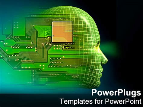 ppt templates for robotics free download powerpoint template printed circuit board embedded in