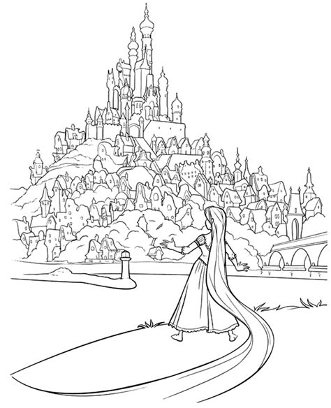 tangled coloring pages download rapunzel coloring pages best coloring pages for kids