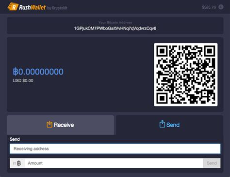 bitcoin wallet login rushwallet delivers fast frictionless and login free