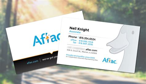 order aflac business cards gallery card design and card