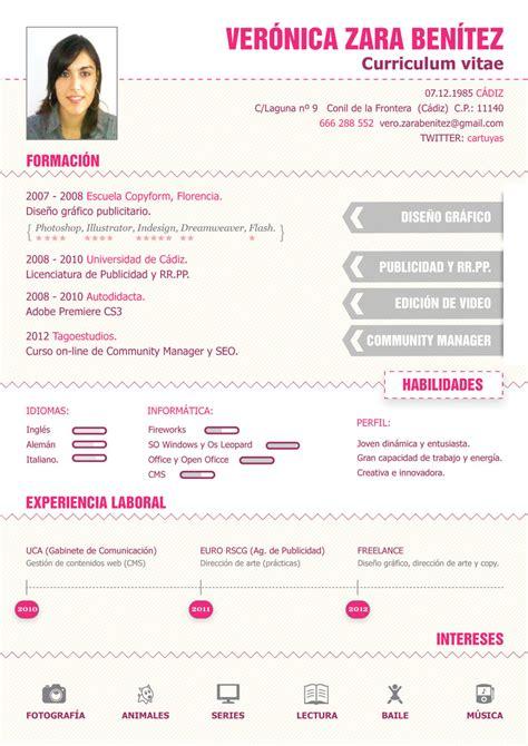 Plantillas De Curriculum Vitae Diseño Grafico Dise 241 O De Mi Curriculum Vitae 1 Design