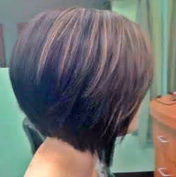 angled bob hairstyles front and back