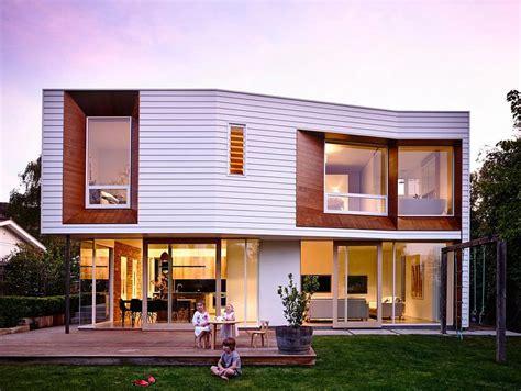 modern traditional homes wavy modern extension enlivens 1920s californian bungalow