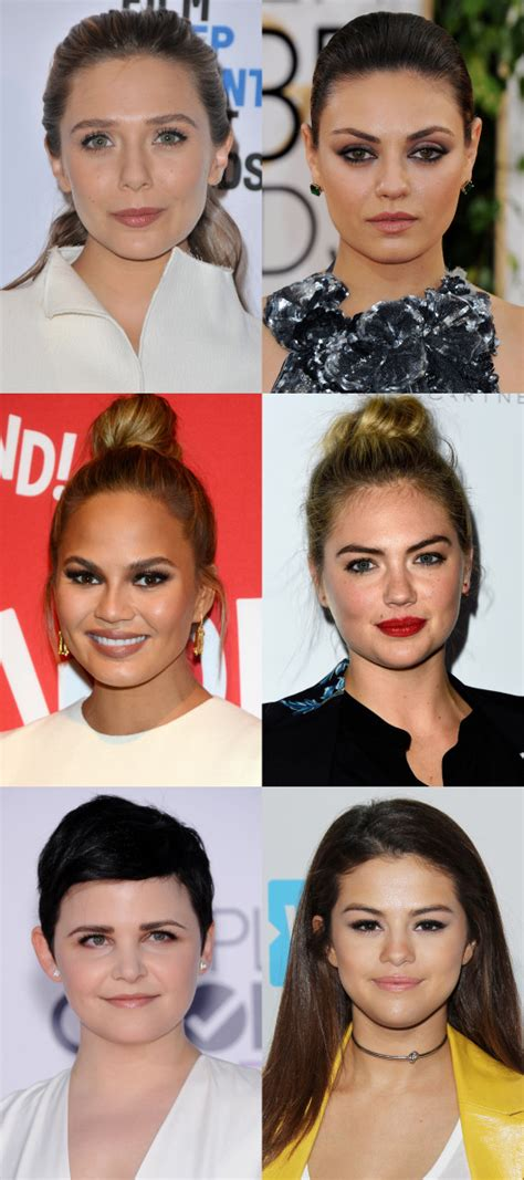 exles of face shapes how to figure out your face shape in 4 steps beautyeditor