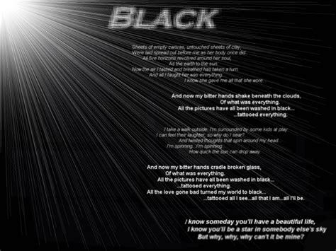 black pearl jam testo pearl jam s black by panteraz666 on deviantart