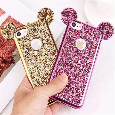 Luxury 3d Phone For Iphone 7plus luxury 3d mickey mouse for iphone 6 6s 7 plus 5 5s