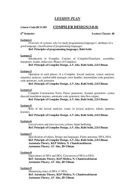 compiler design tutorial notes runtime error handling in compiler design home design ideas