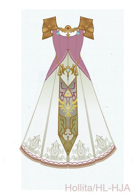 zelda crown pattern zelda twilight princess cosplay design draft by