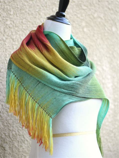 yellow pattern scarf 414 best images about weaving rigid heddle loom on