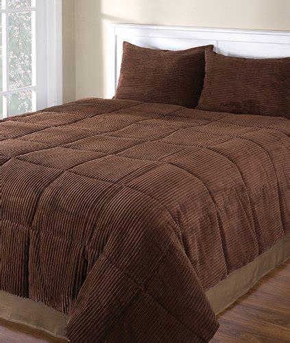 Comforter Sets Cyber Monday by Chocolate Corduroy King 3 Comforter Set Price