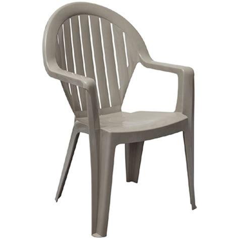Merveilleux Table Et Chaise Jardin Pas Cher #2: fauteuil-de-jardin-en-resine-miami-couleur-taupe-grosfillex.jpg