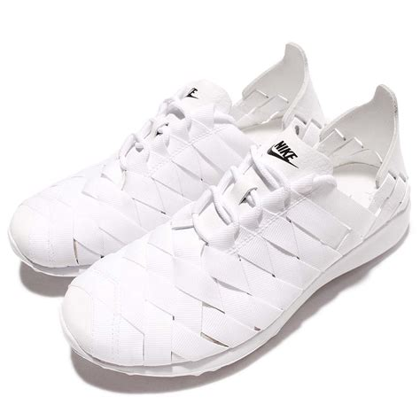 woven shoes womens wmns nike juvenate woven white black womens running shoes