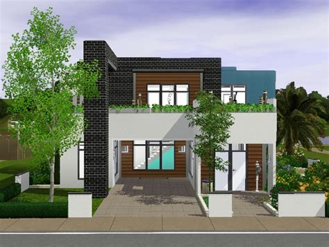 Sims 3 House Plans Modern Sims 3 Small Modern House Best House Design
