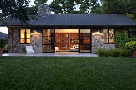 Modern Cottage Homes by Fieldstone Guest Cottage Sonoma Ca Exterior