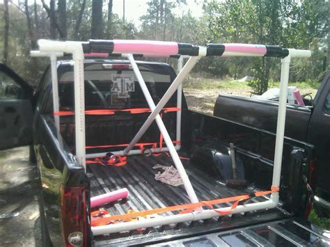 truck bed kayak rack pvc kayak rack for truck bed cosmecol