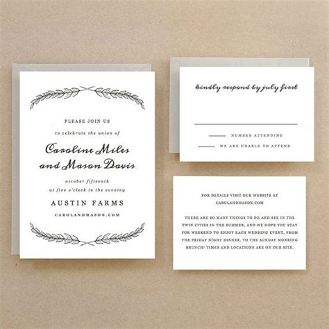 quill templates for word printable wedding invitation template instant download