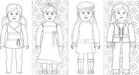 Bonggamom Finds And More American Girl Coloring Pages American Doll Isabelle Coloring Pages Printable
