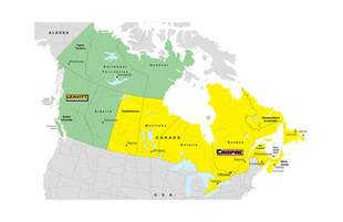 map of canada and territories canada territory map