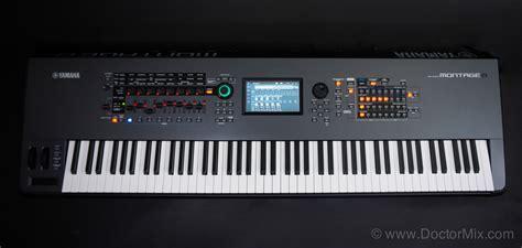 Keyboard Yamaha Montage 8 Yamaha Montage Review Doctormix