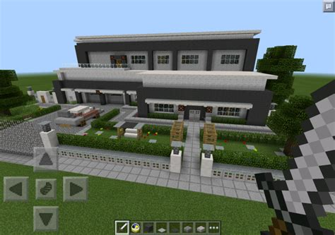 houses for minecraft pe redstone powered modern house map minecraft pocket edition minecraft pe mcpe
